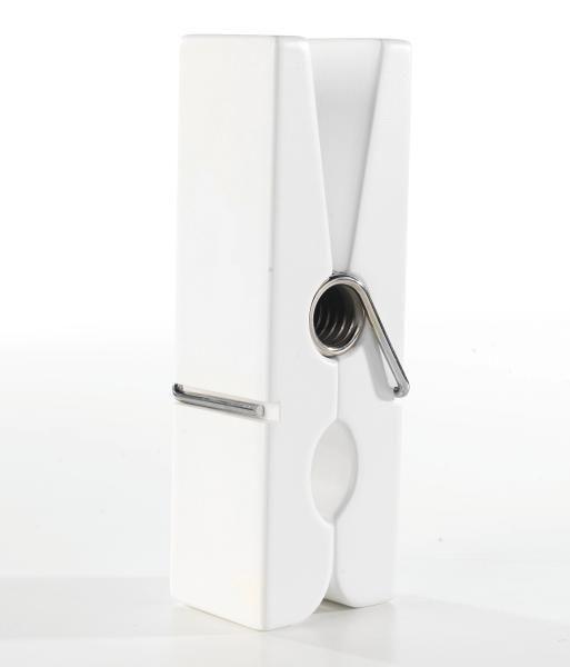 Fali Csíptető Gams Weiss  -sb- - fehér, fa (20/5/7,5cm)