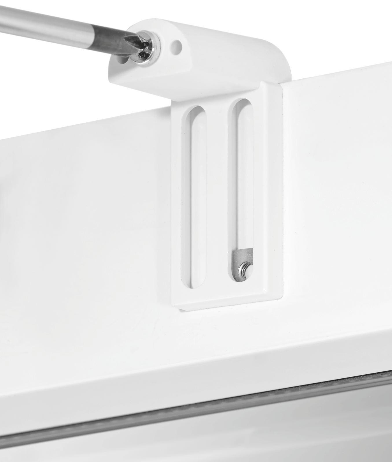 Rúdtartó Easy - fehér, fém - MÖMAX modern living