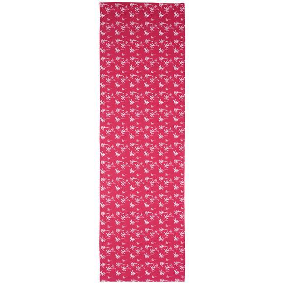 Asztali Futó Lady Palms - Pink, Lifestyle, Textil (45/150cm) - Mömax modern living