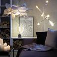 Viseča Svetilka Larissa - bela, Romantika, kovina (30/110cm) - Premium Living