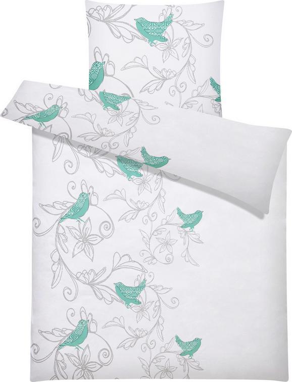 Bettwäsche Valentina ca. 135x200cm - Mintgrün, ROMANTIK / LANDHAUS, Textil (135/200cm) - MÖMAX modern living