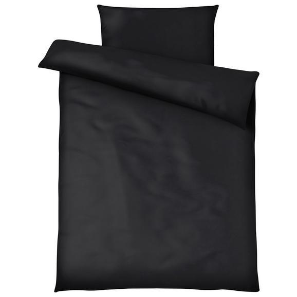 Lenjerie De Pat Blacky - negru, Modern, textil (140/200cm) - Modern Living
