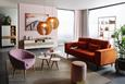 Fotelja Bea -exlusiv- - roza/prirodne boje, Modern, tekstil (75/77/45/66cm) - Mömax modern living