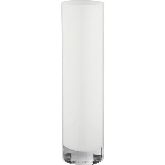 Vaza Vivien Ii - bela, Moderno, steklo (8/30cm) - Mömax modern living