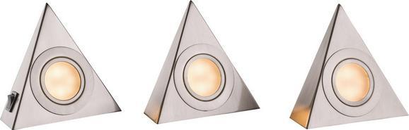 Unterbauleuchte Ulla 3er Set, max. 5 Watt - Metall (14/12,5/4,5cm) - Mömax modern living