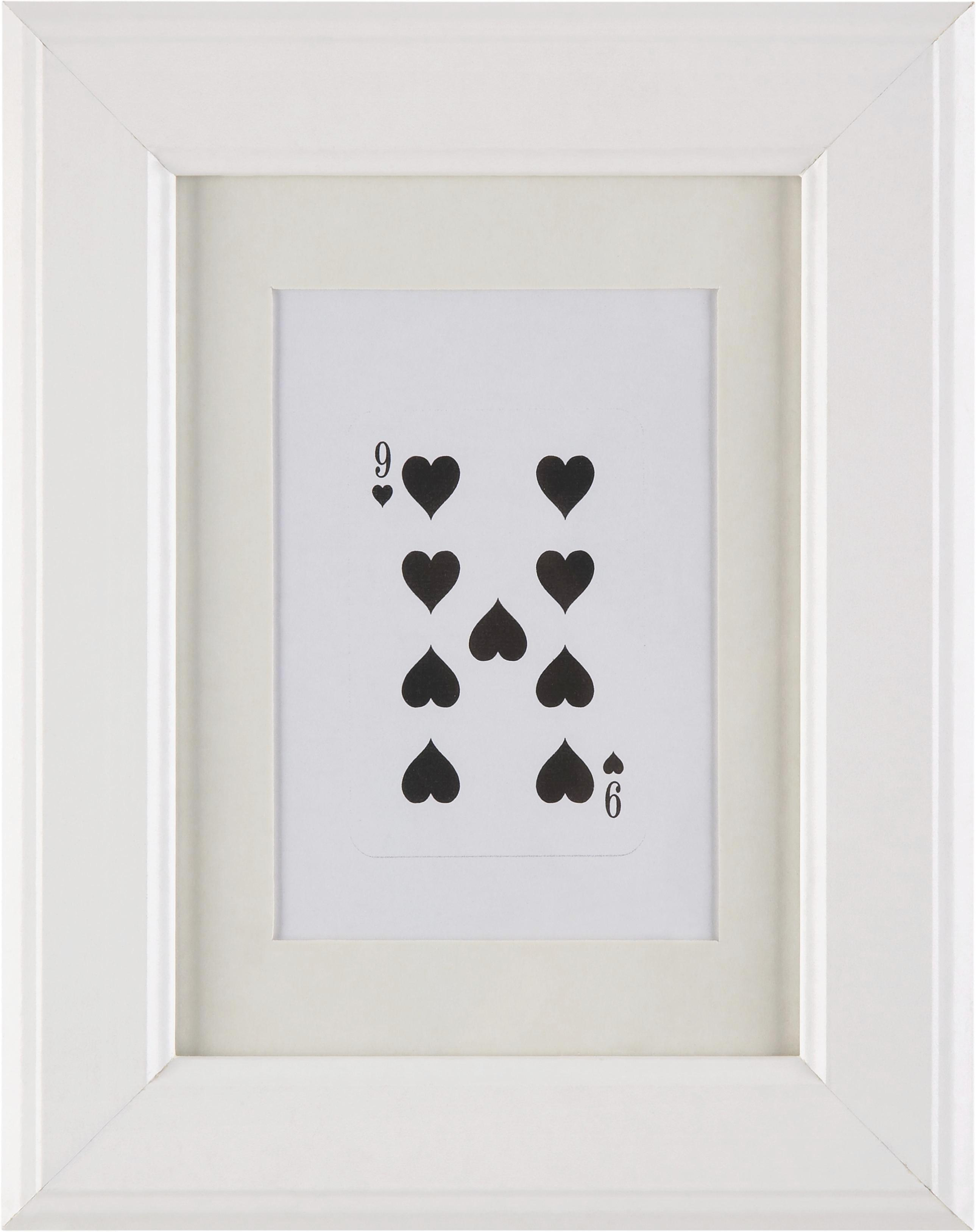 Képkeret Provence - fehér, romantikus/Landhaus, üveg/fa (13/18cm) - MÖMAX modern living