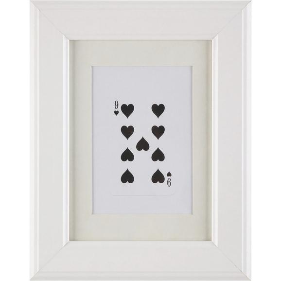 Okvir Za Slike Provence - bela, Romantika, steklo/les (13/18/2cm) - Mömax modern living