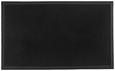 Predpražnik Linus - črna, umetna masa (60/80cm) - Mömax modern living
