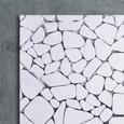 Teppich Digitaldruck Kiesel 40x60cm - Dunkelgrau/Hellgrau, Textil (40/60cm) - Mömax modern living
