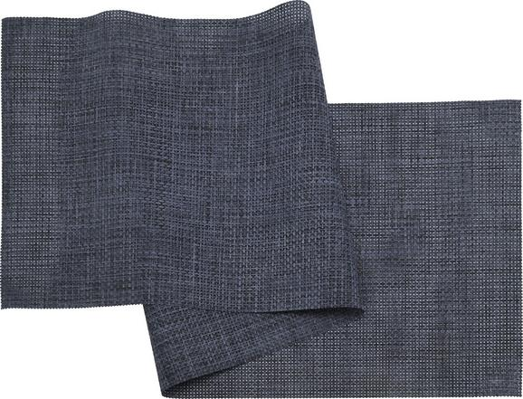 Nadprt Stefan - temno modra, umetna masa (45/150cm) - Mömax modern living