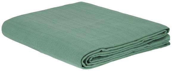 Pregrinjalo Solid One -ext- - zeleni žad, tekstil (240/210cm) - Based