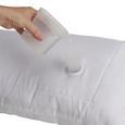 Kissen Nowo in Weiß, ca. 40x80cm - Textil - Premium Living