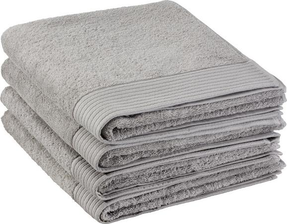 Duschtuch Dolly 70x140cm - Hellgrau, KONVENTIONELL, Textil (70/140cm) - MÖMAX modern living