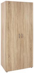 Drehtürenschrank Eichefarben - Eichefarben, KONVENTIONELL, Holzwerkstoff/Kunststoff (80/177/52cm) - MODERN LIVING