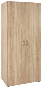 Omara S Klasičnimi Vrati Wels -based- - hrast, Konvencionalno, leseni material (80/177/52cm) - BASED