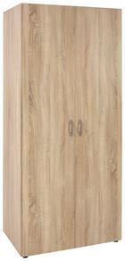 Omara S Klasičnimi Vrati Wels -based- - hrast, Konvencionalno, umetna masa/leseni material (80/177/52cm) - Based