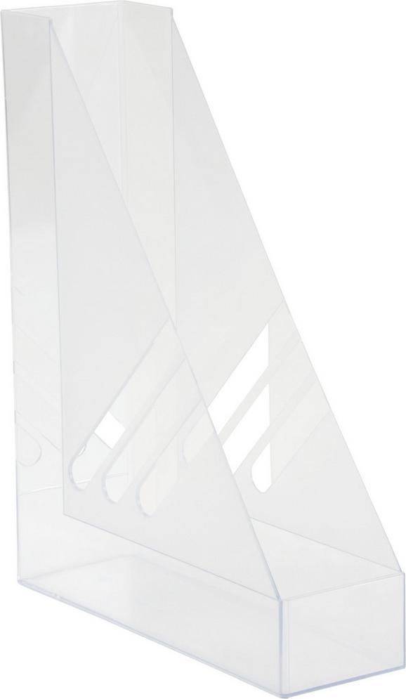 Stehsammler Rudi aus Kunststoff - Klar, KONVENTIONELL, Kunststoff (8/35/32cm) - MÖMAX modern living