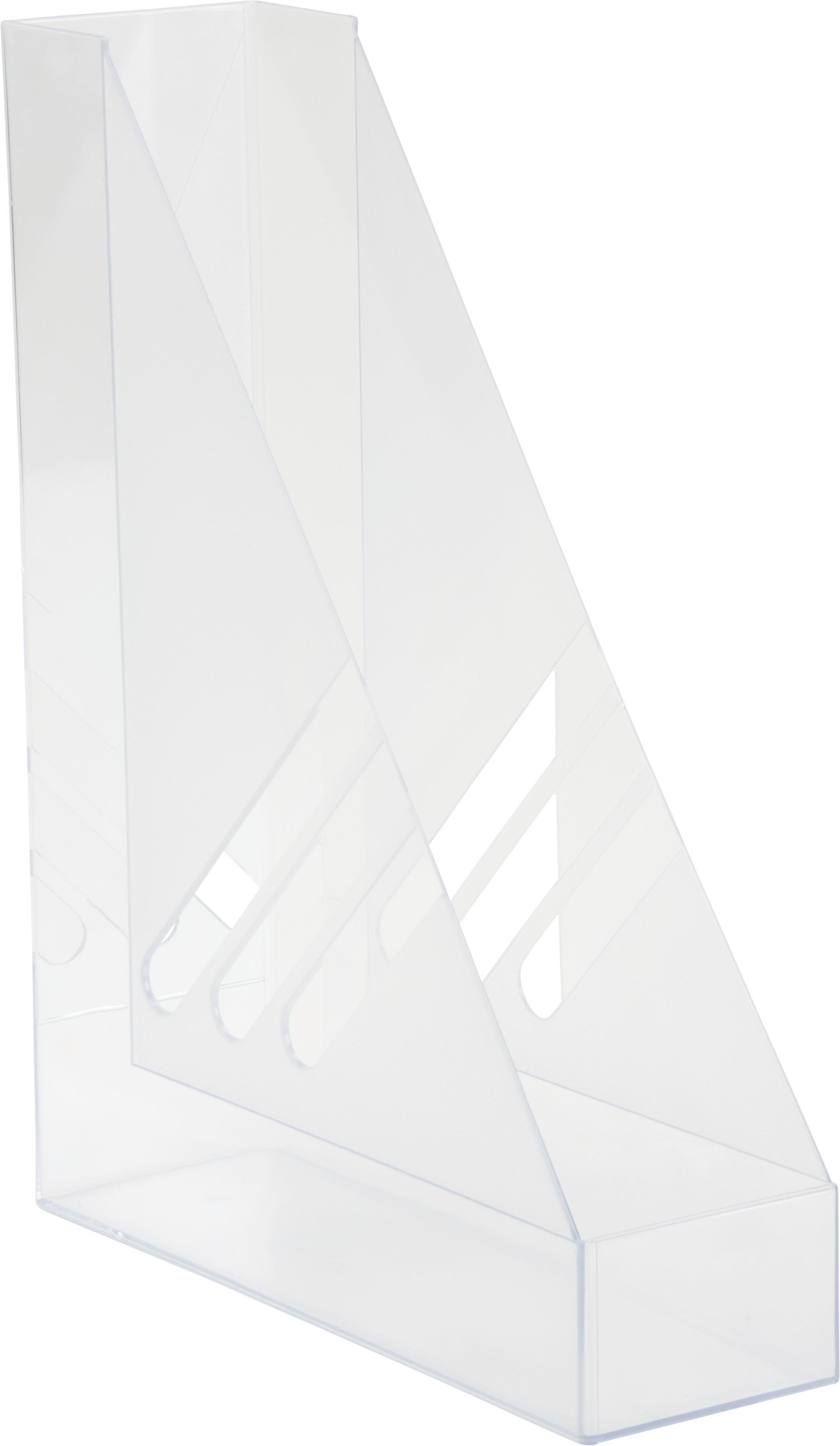 Stojalo Za Revije Rudi - prozorna, Konvencionalno, umetna masa (8/35/32cm) - MÖMAX modern living