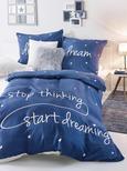 Bettwäsche Dream ca. 135x200cm - Blau, Textil - MÖMAX modern living