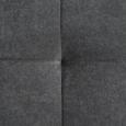 Boxspringbett Isabel 180x200 cm inkl. 7-zonen Ttfk-matratze - Anthrazit, MODERN, Holz/Textil (186/118/215cm) - Mömax modern living