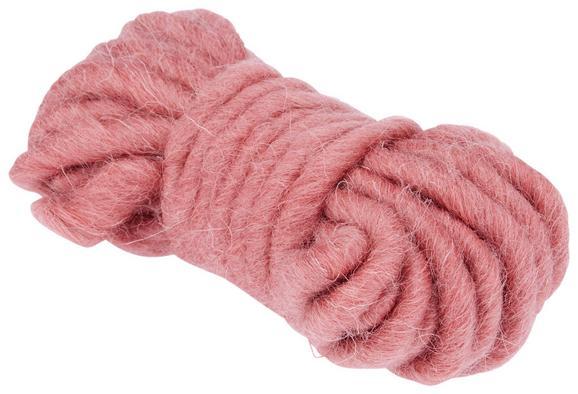 Baumwollband Luna Rosa - Rosa, Weitere Naturmaterialien (500cm) - Mömax modern living
