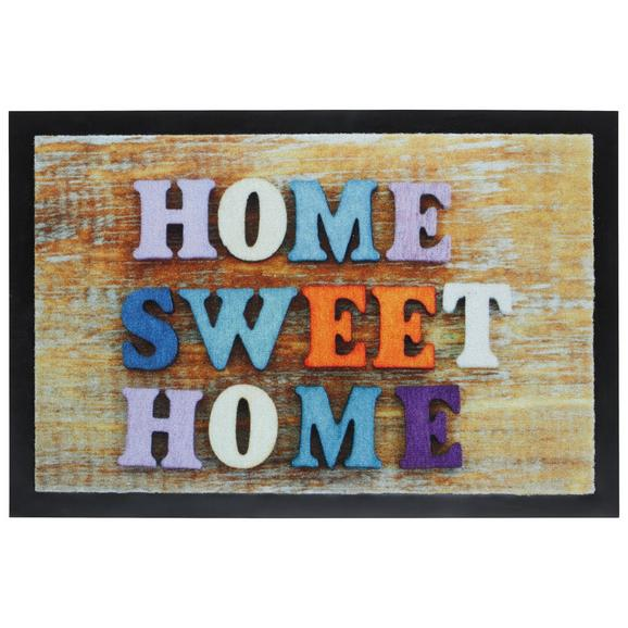 Fußmatte Home Sweet Home ca.40x60cm - Multicolor, MODERN, Textil (40/60cm) - Mömax modern living
