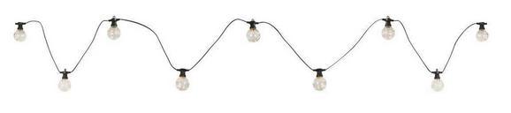 Lichterkette Almaga, Max. 0,42 Watt - Klar/Schwarz, Kunststoff (750cm)