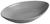 Servierplatte Nele aus Steingut in Grau - Grau, MODERN, Keramik (25,3/16/3,8cm) - Premium Living