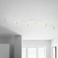 Reflector Nantes - alb/culoare crom, Lifestyle, plastic/metal (150/17,5cm) - Modern Living