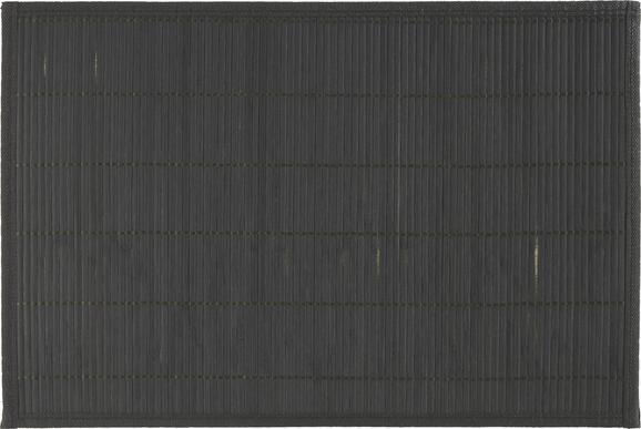 Tischset Asia in Schwarz - Schwarz, Holz (30/45cm) - MÖMAX modern living