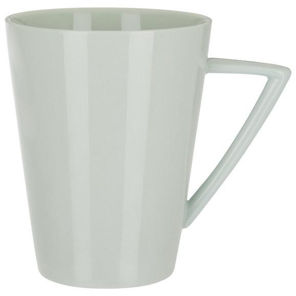 Kaffeebecher Pura aus Porzellan ca. 365ml - Mintgrün, MODERN, Keramik (8,7/10,6cm) - Mömax modern living