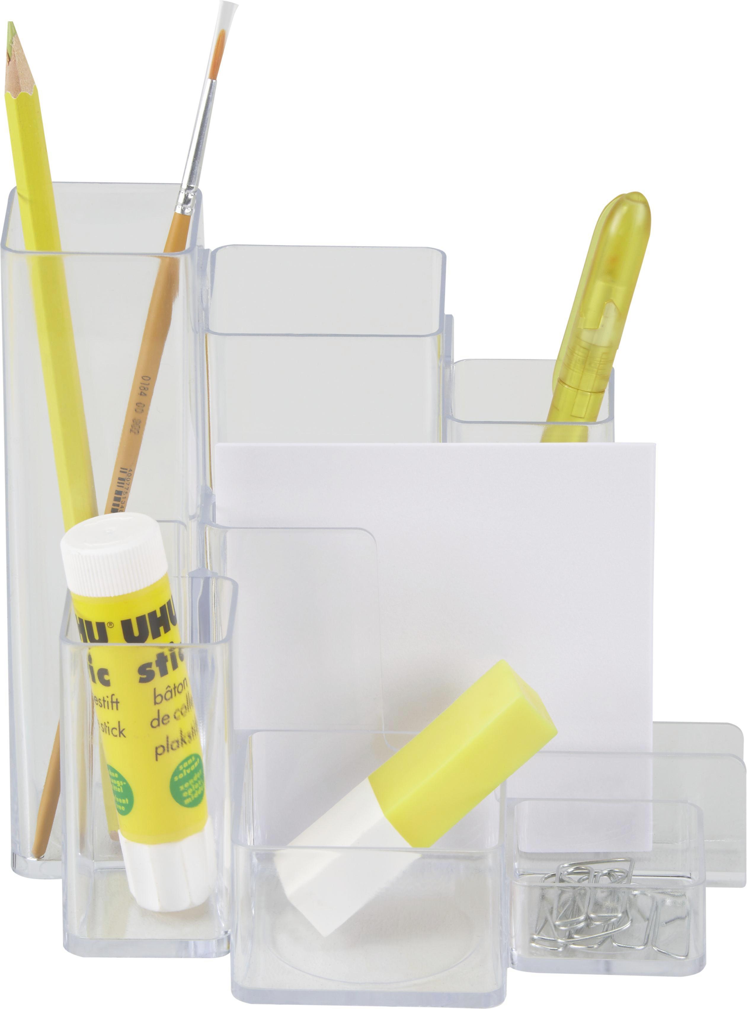Ceruzatartó Denise - tiszta, konvencionális, műanyag (12.1/14/15.2cm) - MÖMAX modern living