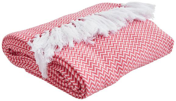 Posteljno Pregrinjalo Zac - roza, tekstil (140/200cm) - Mömax modern living