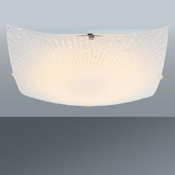 Deckenleuchte Margret, max. 12 Watt - KONVENTIONELL, Glas/Metall (30/30/8cm) - Mömax modern living