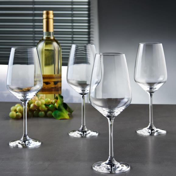 Weißweingläser Vivo Voice Basic 4er Set - MODERN, Glas - Vivo