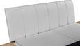 Posteljna Garnitura Florenz - bela/hrast, Konvencionalno, leseni material (192/100/215cm) - Mömax modern living
