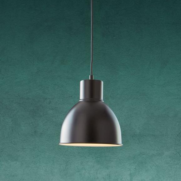 Pendelleuchte Nessaja - Schwarz, MODERN, Metall (21,5/130cm) - Modern Living