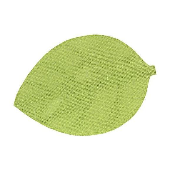 Suport Farfurie Leaf - alb/verde, materiale naturale (33/50cm)