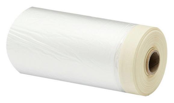 Abdeckfolie Marli aus Kunststoff - Transparent/Creme, KONVENTIONELL, Papier/Kunststoff (3300cm) - Gebol