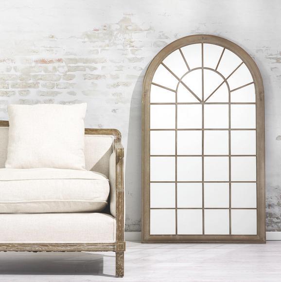 Spiegel Bianca ca. 75x131 cm - Sandfarben, KONVENTIONELL, Glas/Metall (75/131/4cm) - Premium Living