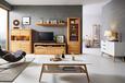 Dohányzóasztal Durham - Barna/Fehér, modern, Faalapú anyag/Fa (130/43/70cm) - Mömax modern living