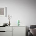 Asztali Lámpa Irma - Mentazöld, romantikus/Landhaus, Kerámia/Textil (18/25cm) - Mömax modern living
