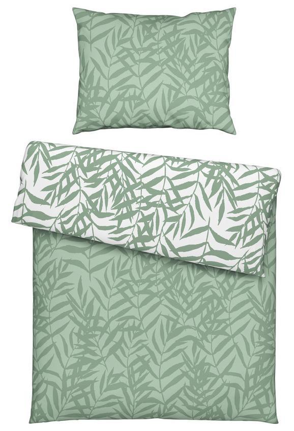 Bettwäsche Miamileaf Wende ca. 140x200cm - Grün, KONVENTIONELL, Textil (140/200cm) - Mömax modern living