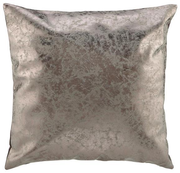 Zierkissen Lara In Antique, ca. 45x45cm - Grau, LIFESTYLE, Textil (45/45cm) - MÖMAX modern living