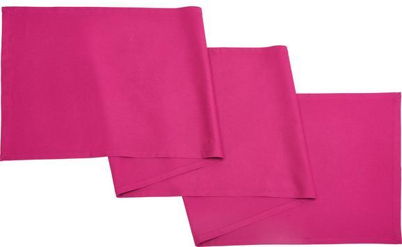 Asztali Futó Steffi Überlange - lila, textil (45/240cm) - Mömax modern living