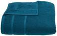 Duschtuch Melanie Petrol - Petrol, Textil (70/140cm) - Mömax modern living