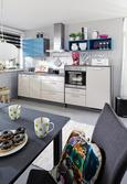 Kuhinjski Blok Win - turkizna/antracit, Moderno (302,5cm) - Express