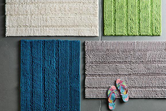 Badematte Uwe ca. 60x100cm - Weiß, Textil (60/100cm) - MÖMAX modern living