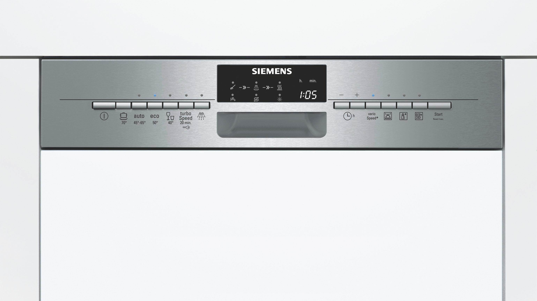 Geschirrspüler Siemens Sn56n596eu, EEZ A++ - MODERN, Metall (59,8/81,5/57,3cm) - SIEMENS