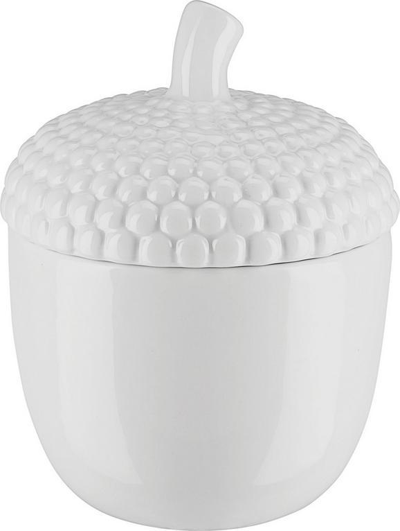 Okrasna Posoda Malin - bela, keramika (12,2/15,5cm) - Mömax modern living